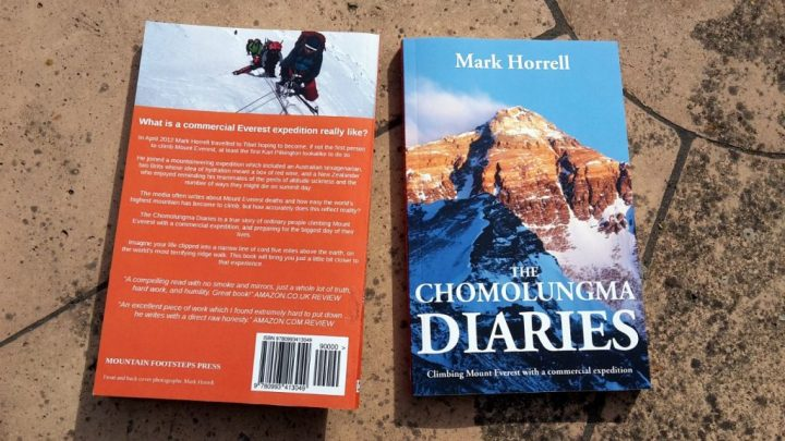 The Chomolungma Diaries, available now in paperback format