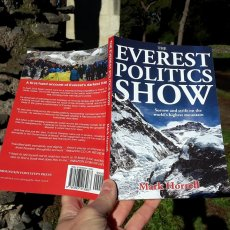 The Everest Politics Show is out now in paperback