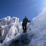 The trail to Chimborazo's summit is an intricate one (Photo: Edita Nichols)