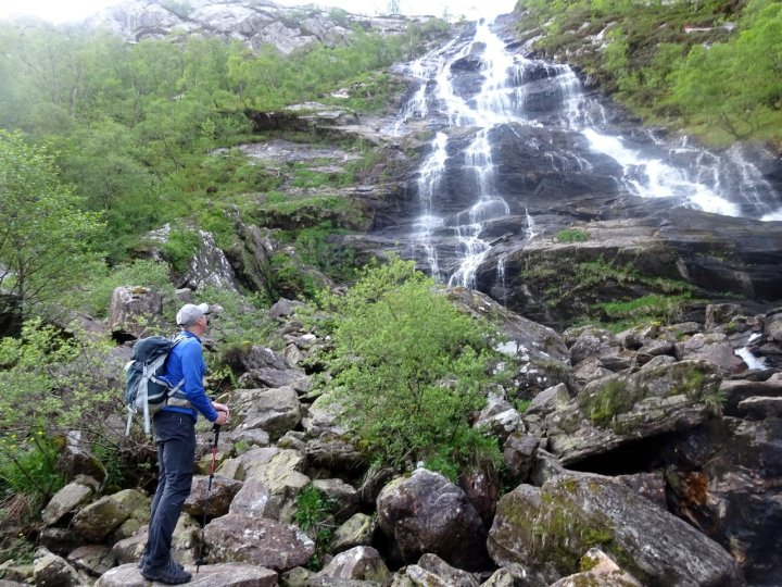 Somewhat underwhelmed by the waterfall of An Steall