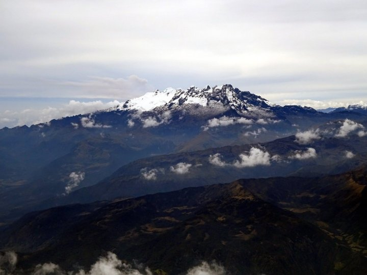 El Altar from the summit of Tungurahua