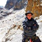 Victor Correa at Bellavista in the Sierra Nevada del Cocuy (Photo: Thierry Levenq)