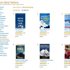 UK readers: Seven Steps from Snowdon to Everest available for less than a quid