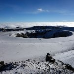 Kilimanjaro's spectacular inner crater and ash pit