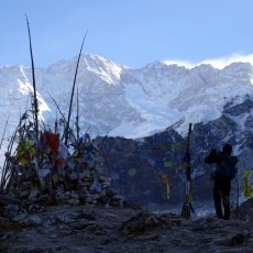 Kangchenjunga base camp trek: Oktang and the south side