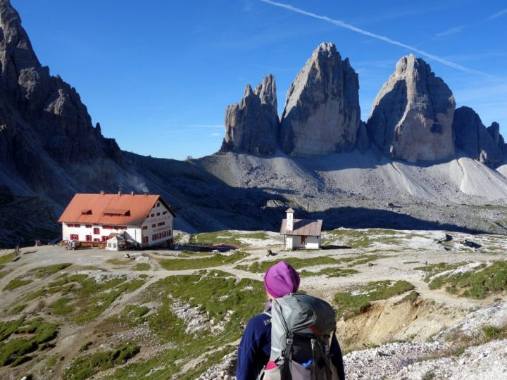 I had a craving to complete a circuit of the Tre Cime di Lavaredo