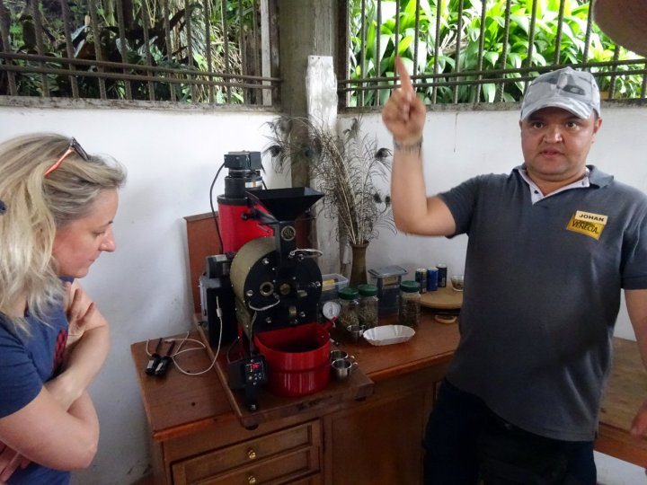 Our trip started with a relaxing tour of a coffee farm