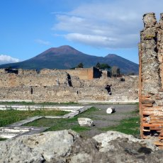 Vesuvius and the Path of the Gods