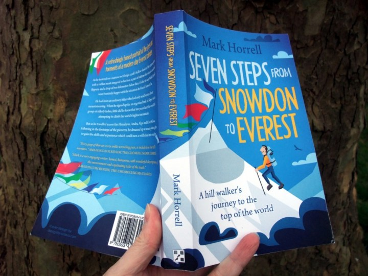 Seven Steps from Snowdon to Everest: you'd be barking mad not to buy it