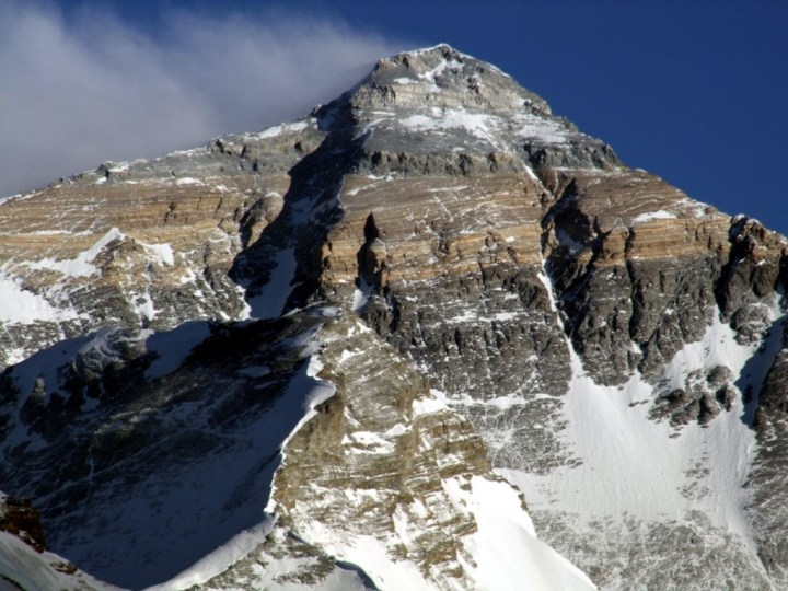 Everest was unusually dry this year