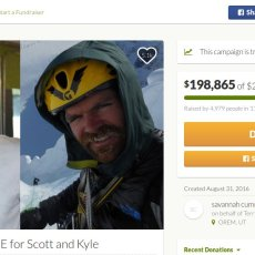 Why a crowdfunded mountain rescue raised $200,000 in under a week
