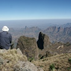 Ethiopia's Simien Mountains: great trekking, unusual wildlife, and a summit