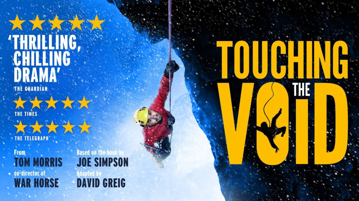 Review: Touching the Void, on stage in London's West End – Mark Horrell