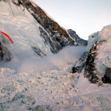 The mother of all avalanches: an eyewitness account