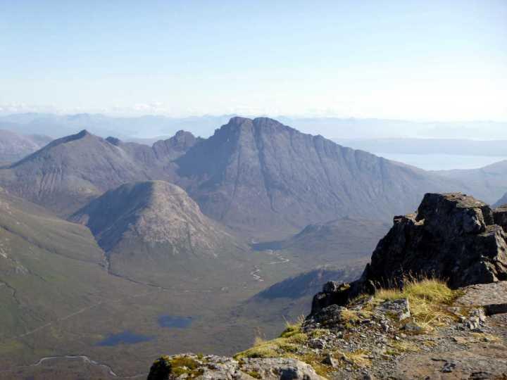 Bla Bheinn from the summit of Sgurr nan Gillean