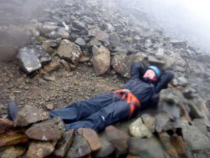 A full traverse of the Cuillin ridge involves an overnight bivouac