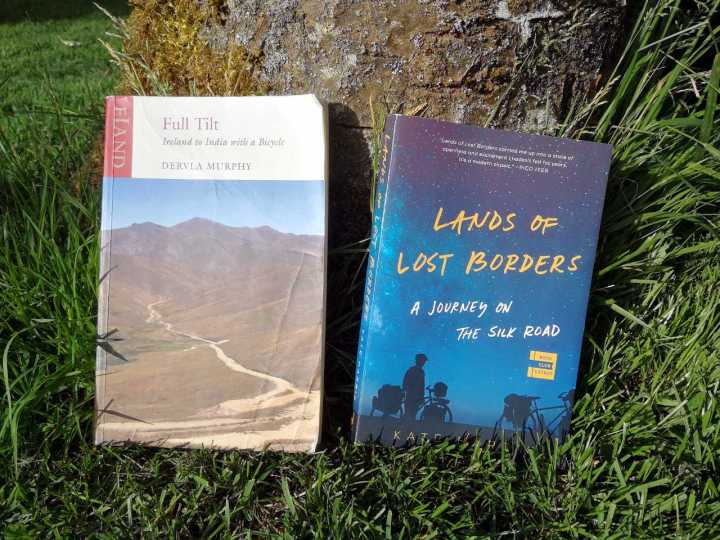 Full Tilt by Dervla Murphy and Lands of Lost Borders by Kate Harris: two books with much in common, but how much?