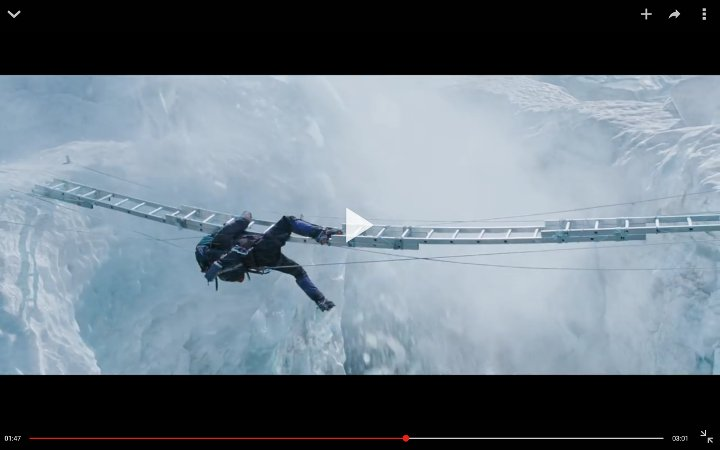 One scene with Beck Weathers falling off a ladder did look a bit silly, but on the whole the film looked quite authentic