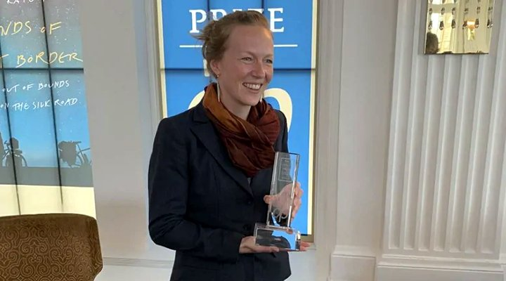 Over achiever Kate Harris wins the 2019 RBC Taylor Prize (Photo: Canadian Broadcasting Corporation (CBC))