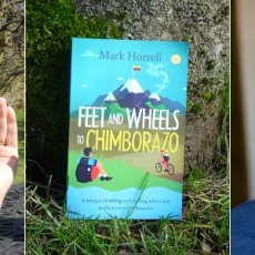 My second audiobook – Feet and Wheels to Chimborazo, narrated by Philip Battley