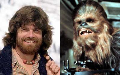 Reinhold Messner / Chewbacca