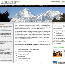Implementing WordPress for an adventure travel company