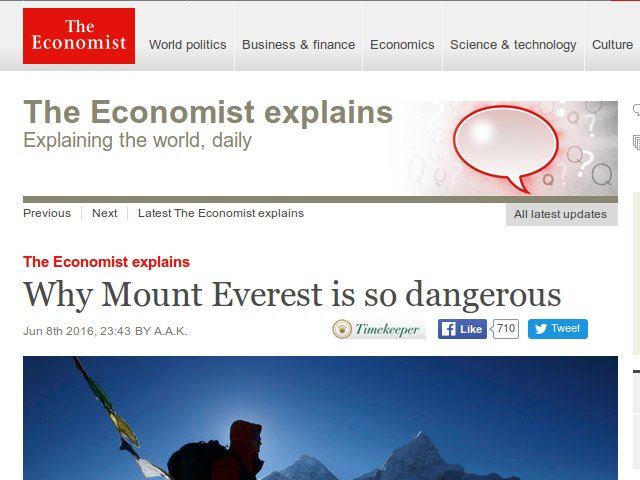 The Economist explains: Explaining bollocks, daily