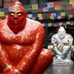 Yeti, meditating Buddha or sumo wrestler? No one's really sure (Photo: Kamal Pariyar / BBC)