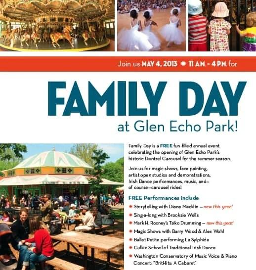 Family Day at Glen Echo Park
