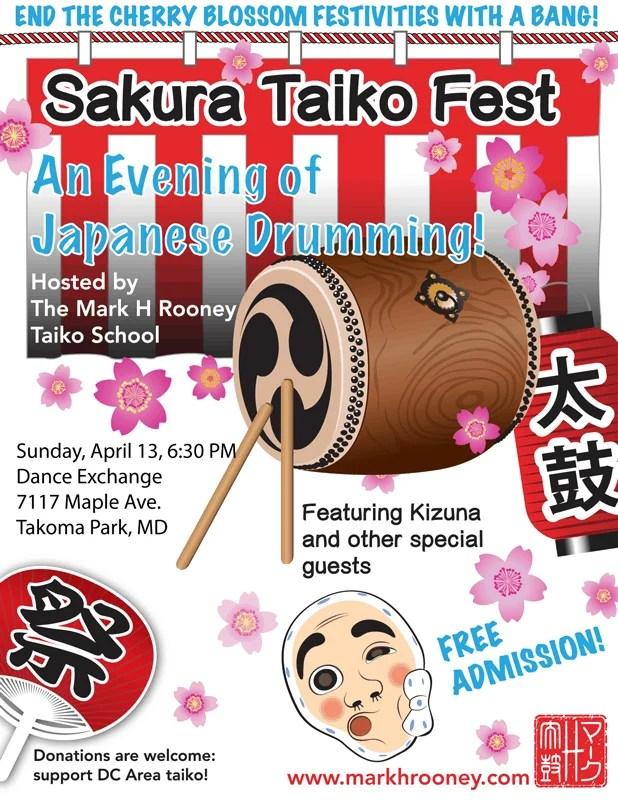 Sakura Taiko Fest 2014
