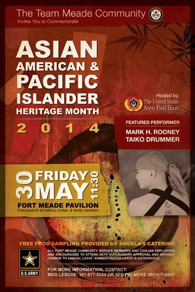 Fort Meade Asian Pacific Heritage Month