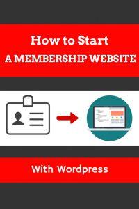 How to start a membership website