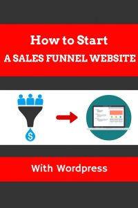 How to start a sales funnel website