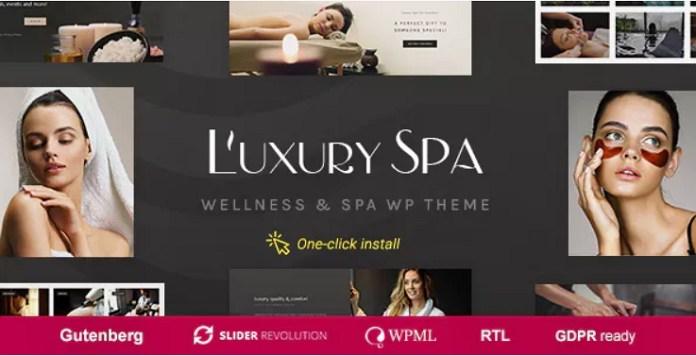 Luxury Spa Theme
