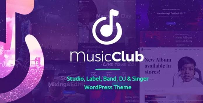Music Club Theme