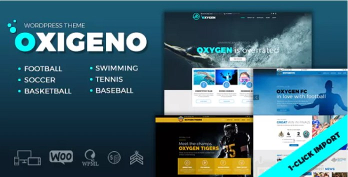 Oxigeno Sport Theme