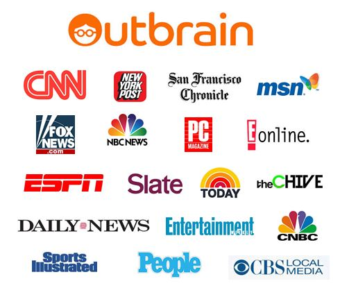 Outbrain Media Outlet Partners