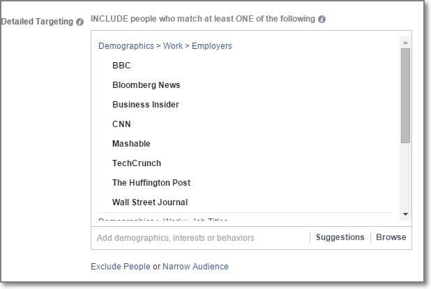 When you have a great or newsworthy content to promote, use Facebook Ads to get in front of media outlets.