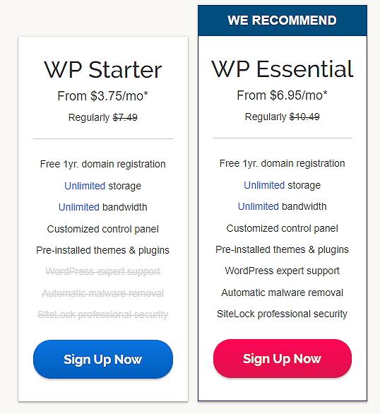 ipage WordPress Hosting