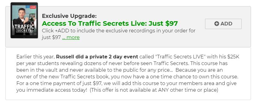 traffic secrets live