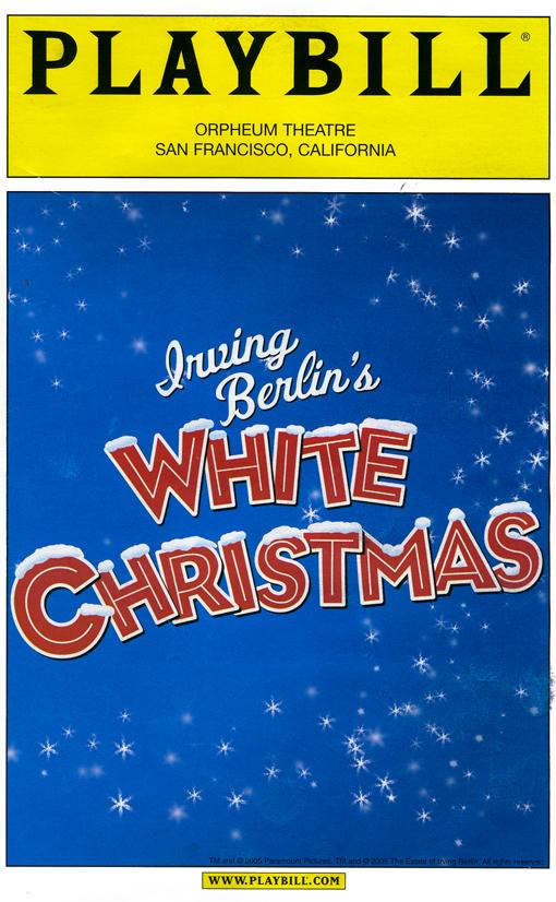 Mark Ledbetter  Irving Berlins White Christmas 2005