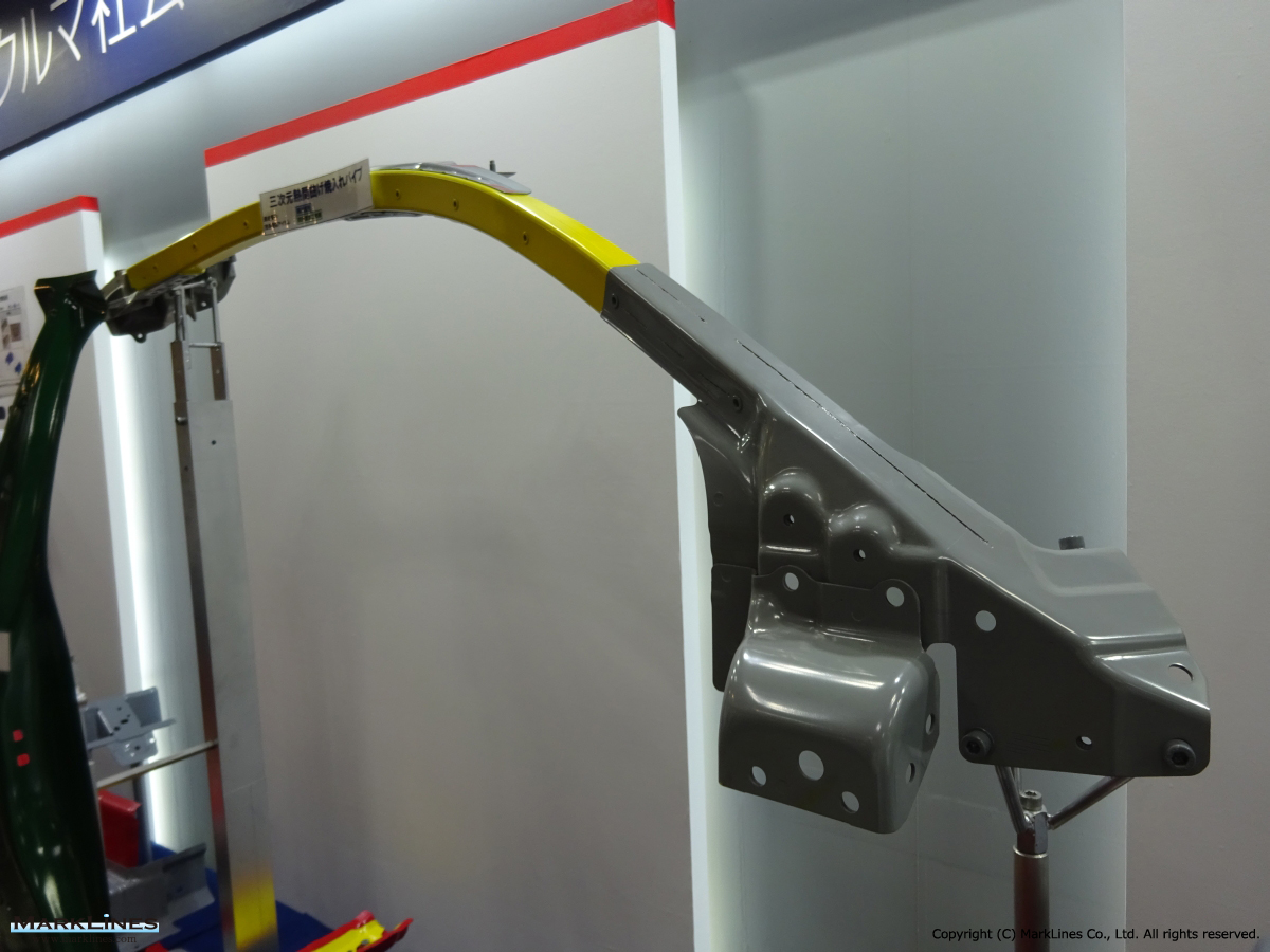 hight resolution of automotive frame parts