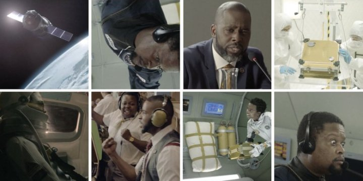 Chicken Licken Afronaut space stills
