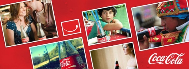 Coca-Cola Facebook cover image