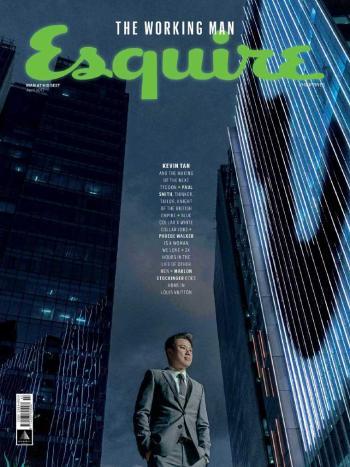 Esquire (Philippines), April 2017: Kevin Tan