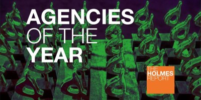 Holmes Report Agencies of the Year slider