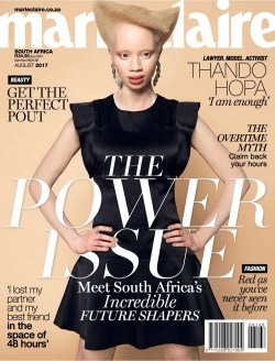 Marie Claire South Africa, August 2017 - Thando Hopa