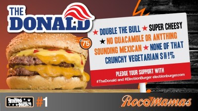 Retroviral Rocomamas #ElectionBurger 01 The Trump