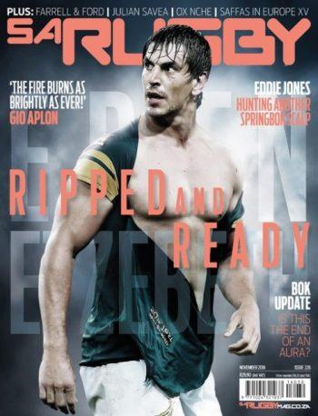 SA Rugby, November 2016: Eben Etzebeth