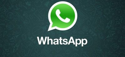 WhatsApp logo slider